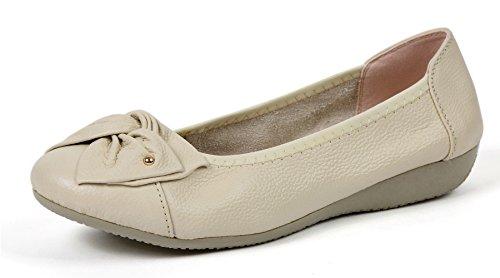 66261b1870c VenusCelia Women s Bows Dance Flat Shoe - Import It All
