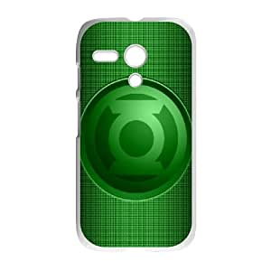 Motorola G Cell Phone Case White Green Lantern HFC Cell Phone Pouches And Cases