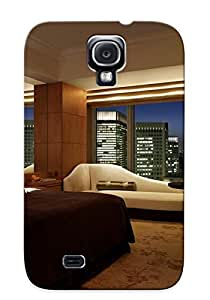 MzpKNUD388ljhwg Chairs Case Cover, Fashionable Galaxy S4 Bed Case - Hotel Room With A View
