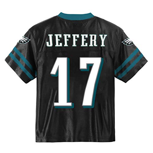 Outerstuff Alshon Jeffery Philadelphia Eagles #17 Black Youth Alternate Player Jersey