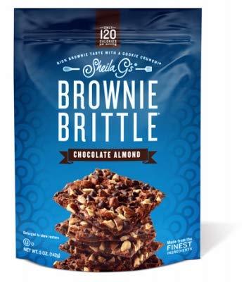 Brownie Brittle SG1229 5OZ Choc Almond Brittle - Quantity 1