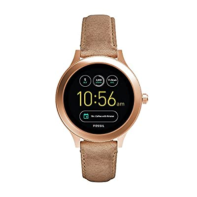Fossil Gen 3 Smartwatch - Q Venture Sand Leather FTW6005
