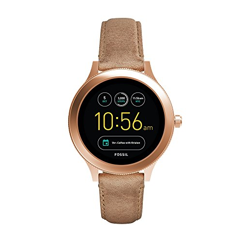 Fossil Gen 3 Smartwatch - Q Venture Sand Leather FTW6005 by Fossil (Image #6)