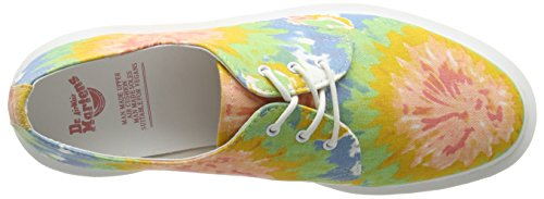 Vegan Dr Martens Oxfords Women's Lester Eye 3 Multi Canvas Mtd ZrrFq