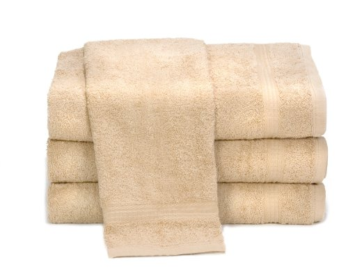 Towels by Doctor Joe D-16304.25-BGEI-6EA Ambassador Beige 16″ x 28″ Lint-Free Car Wash and Detailing Towel, (Pack of 6)