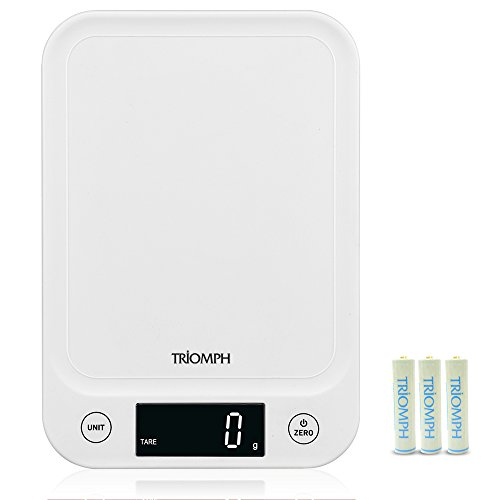 Triomph Digital Kitchen Scale Multifunction Food Scale for C