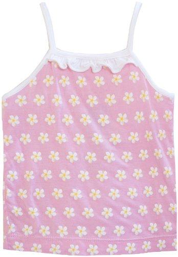 KicKee Pants Baby Girls' Print Ruffle Tank (Toddler/Kid) - Plumeria - 4T