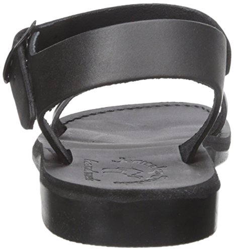 Men's Original Black Jerusalem Sandal Flat Sandals The awxq657
