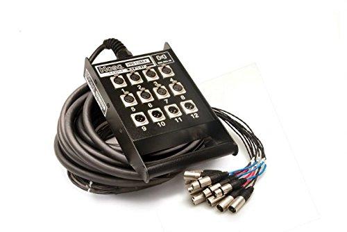 Hosa SNX8X4-25 8 x 4 25' Stage Box Locking by Hosa