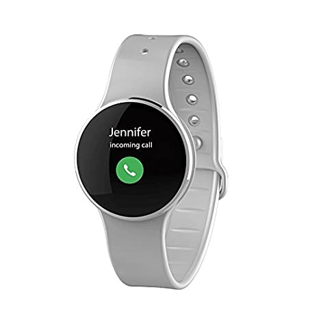 MyKronoz krzecircle2 Activity Tracker, Silver/Grey ...