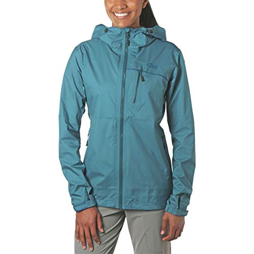 - Outdoor Research Women's Interstellar Jacket, Washed Peacock, Large