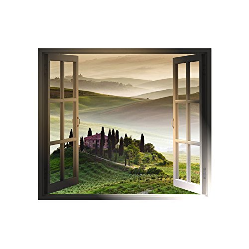 Tuscan Morning Windowscape - Wall Decal