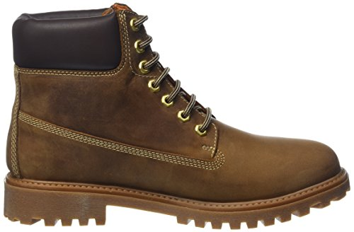 Lumberjack River hommes, cuir lisse, bottes