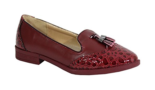 Merceditas Shoes By para Mujer Red Wini ZqZ5wdxR
