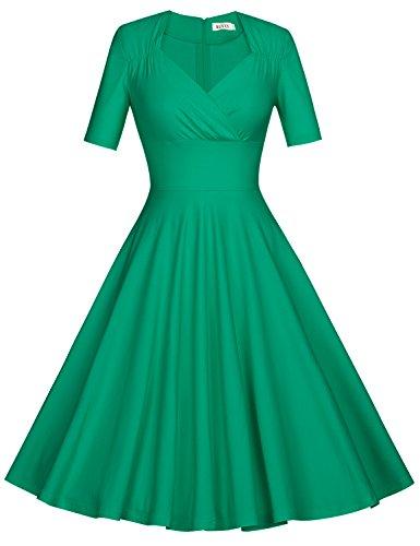 celebrity fashion green dress - 4