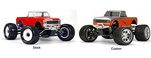 Pro-Line '72 Chevy C10 Pickup T-E Mx Revo Clear Unpainted Body, ()
