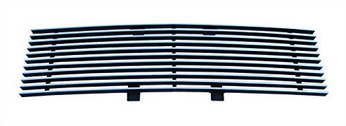 MaxMate Fits 09-12 Ford F-150 Replacement Lower Bumper 1PC Horizontal Billet Polished Aluminum Grille Grill - Billet Replacement Grills Aluminum