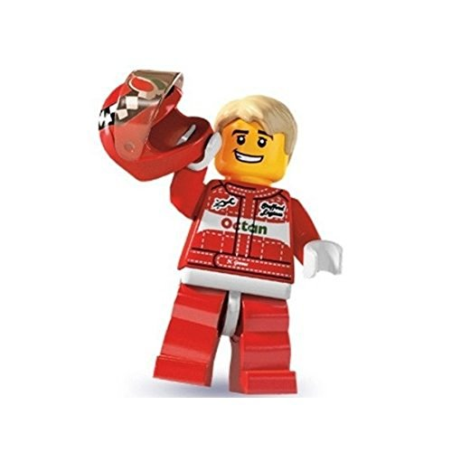 Lego: Minifigures Series 3 > Race Car Driver Mini-Figure