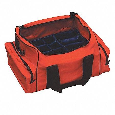 Trauma Bag, Nylon, Orange, 20''x12-1/2''x9'' by EMI (Image #1)