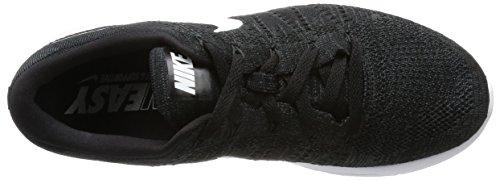 Zapatillas De Running Nike Para Hombre Lunarepic Low Flyknit Negras / Blancas Antracita