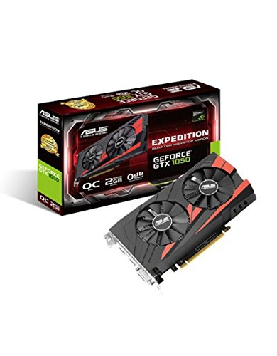 Asus GeForce GTX 1050 EX-GTX1050-O2G Scheda Grafica da 2 GB, DDR5