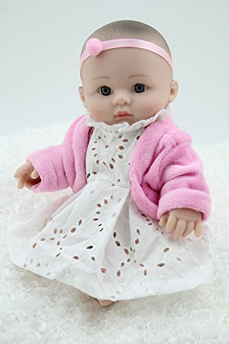 8inch Mini Full Vinyl Baby Doll Toys Dreaming Doll For Your Daughter