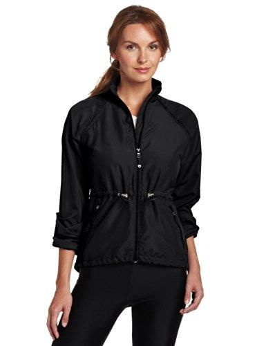 Colosseum Women Breeze Breaker Warm up Jacket (Large, Black) by Colosseum (Image #2)