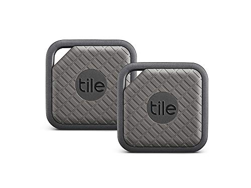 (Tile Sport - Key Finder. Phone Finder. Anything Finder (Graphite) - 2 Pack)