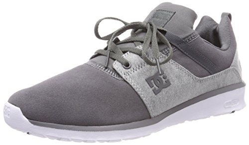 Shoes Grigio Grey DC Uomo Combo Xssw Heathrow Se Sneaker Grey White a117qUd