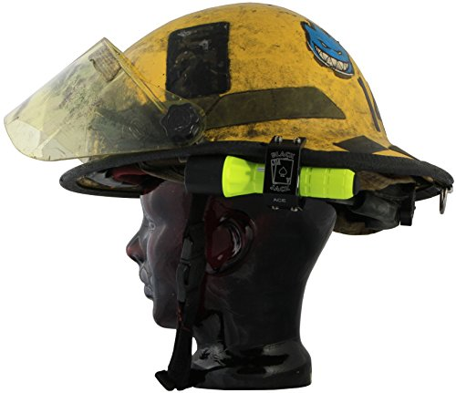 Blackjack ACE Firefighter Helmet Aluminum Flashlight Holder by Blackjack Fire & Safety (Image #4)