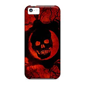 5c Scratch-proof Protection Cases Covers For Iphone/ Hot Gears Of War Phone Cases