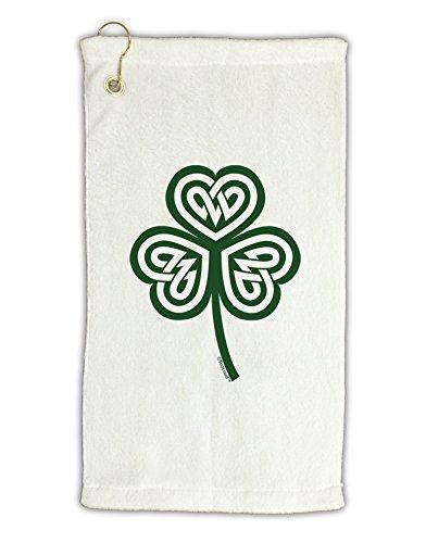 TooLoud Celtic Knot Irish Shamrock Micro Terry Gromet Golf Towel (Irish Golf Towel)
