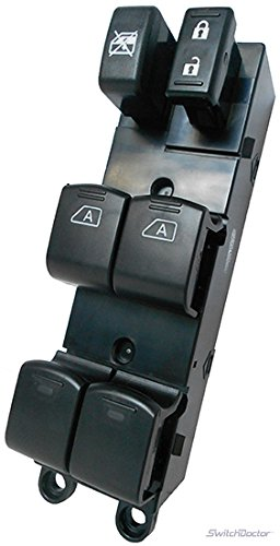 Fits Nissan Titan Crew Cab Master Power Window Switch 2004-2012 - Nissan Switch