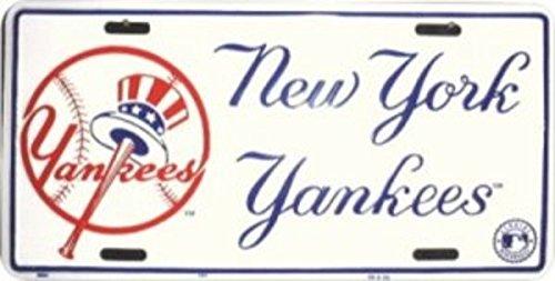 (New York Yankees License Plate)