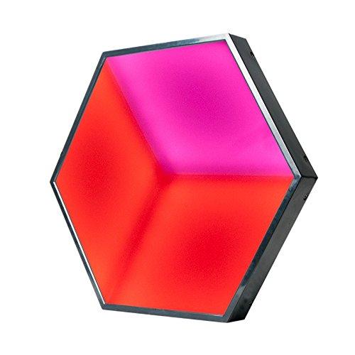 - American DJ 3D Vision Lighting Hexagonal Shape Color LED Panel Light 3D Effects (Renewed)