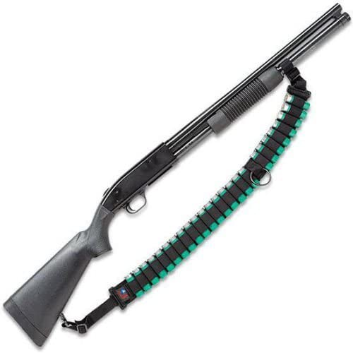 ESCORT 12- OR 20-GAUGE SECURITY SEMI-AUTO SHOTGUN AMMO SLING - HOLDS 25 SHELLS - MADE IN U.S.A.