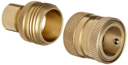 Gentil Dixon DGH7 Brass Quick Connect Fitting, Garden Hose Complete Set, 200 Psi  Pressure