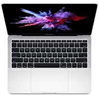 Apple MacBook Pro 13.3 Laptop (Late 2016) Intel Core i5-6360U, 16GB DDR4, 256GB PCIe Solid-State Drive, 802.11ac, Bluetooth, MacOS 10.12 Sierra - Silver