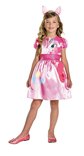 Morris Costumes Baby Girl's PINKIE PIE MAGIC OF CANTERLOT 3T-4T (Couples Caveman Costumes)