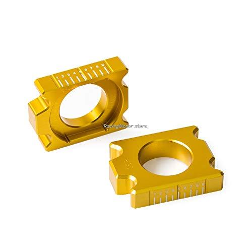 Aki-dreams-house - Rear Axle Blocks Chain For Suzuki RMZ250 2004- RMZ450 2005- RMX450Z 2010 2011 2012 2013 2014 2015 RMZ 250 450