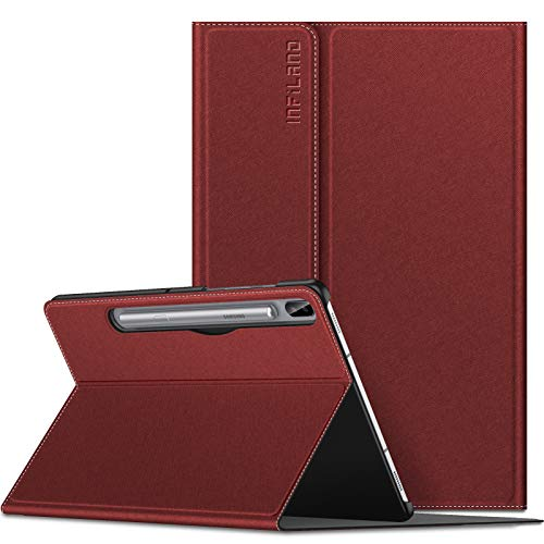 Infiland Galaxy Tab S6 10.5 Case, Multiple Angle Stand Case Fit Samsung Galaxy Tab S6 10.5 Inch Model SM-T860/T865/T867 2019 Release, Support S Pen Wireless Charging, Auto Wake/Sleep 201908USA0542D4-U