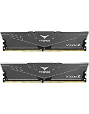 TEAMGROUP T-Force VulcanZ DDR4 16GB Kit (2 x 8GB) Desktop Memory Module Ram Red/Gray Grey Gray Gray 3000MHz 16GB Kit (2 x 8GB)