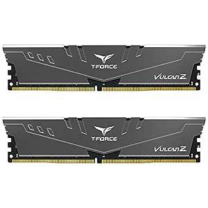 Team T-Force Vulcan Z 32GB (2X 16GB) DDR4 3200MHz Memory - Grey