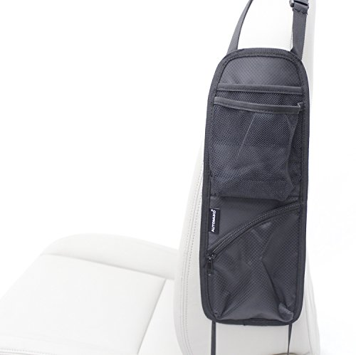 Automuko Seat Side Organizer, For Use On Any - Passenger Seat Organizer