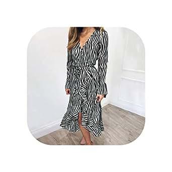 Big Incisors Summer Long Dresses Beach Chiffon Dress Long