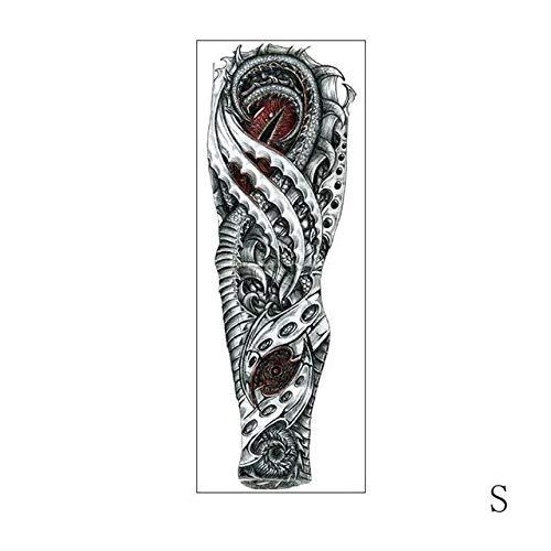 AZJTZ Etiqueta engomada Temporal Impermeable del Tatuaje Reloj del ...