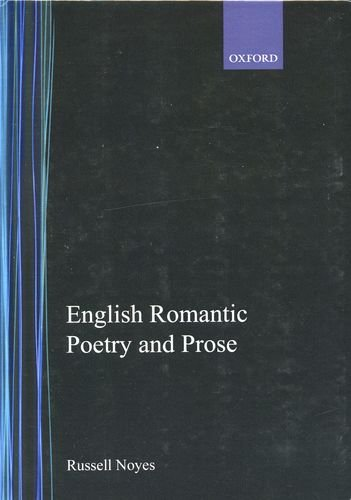 English Romantic Poetry and Prose by Brand: Oxford University Press, USA