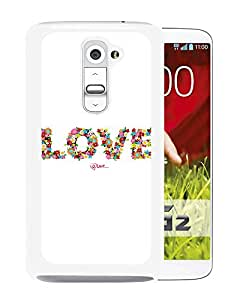 Love Floral Typography (2) Durable High Quality LG G2 Phone Case