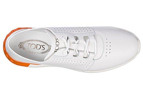Superior Calidad De La Venta En Línea Tod's Scarpe Sneakers Uomo in Pelle Nuove Allacciata Sportivo Bianco Venta 2018 Unisex Venta Encontrar Gran Comprar Barato Cuánto Pago Con Visa De Salida IXWRna1P