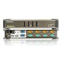 """Iogear Miniview Gcs1744 4-Port Dual View Kvm Switch """"Prod. Type: Kvm & Peripheral Sharing/Kvm Switch 4 Port"""""""